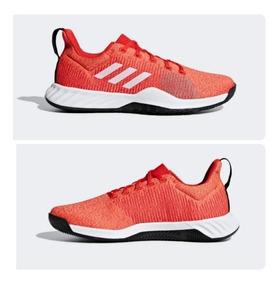 zapatillas adidas hombre rojas