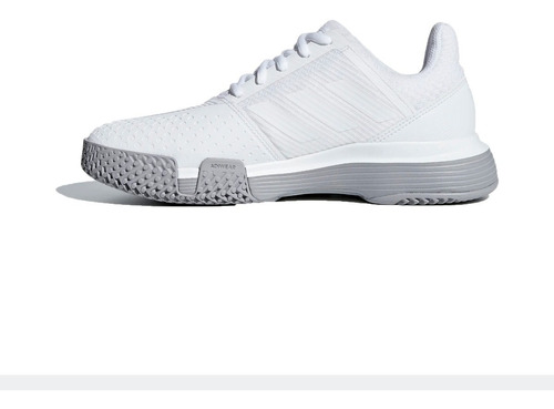 adidas zapatillas tenis mujer courtjam bounce blanco