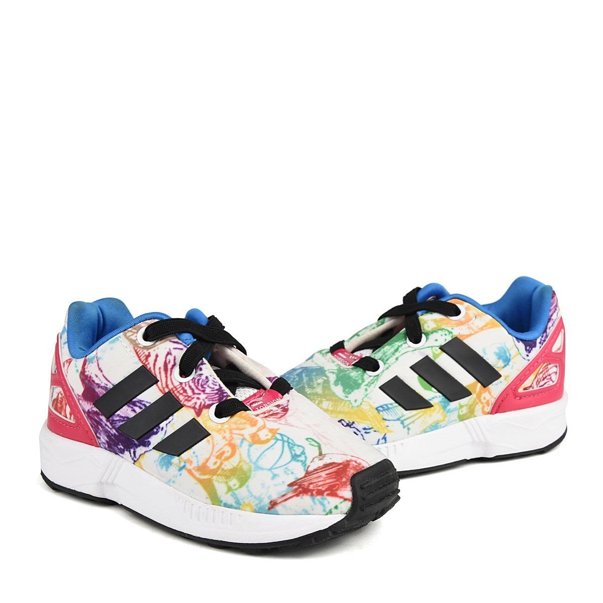 premium selection 1c38c 0658e adidas zx flux el i jungle multicolor s76314. Cargando zoom.
