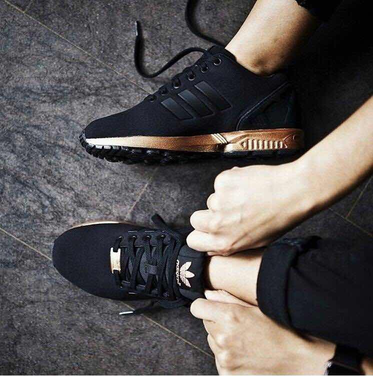 premium selection b499f 0391c adidas zx flux gold con envio gratis