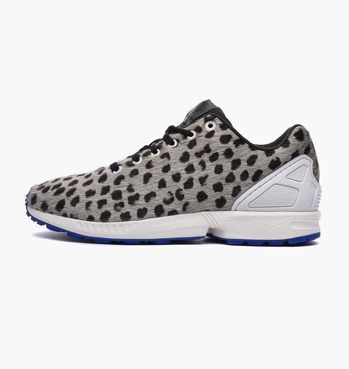 adidas zx flux leopardo