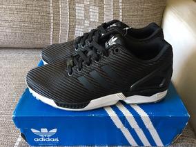 cda71930146 adidas Zx Flux Nº 39 (us 8) Carbon Fiber