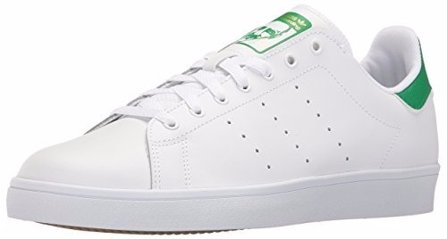 adidase originals stan smith vulc blanco-verde 8.5 us