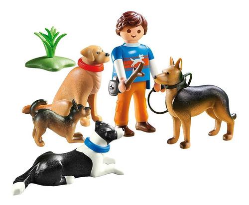 adiestrador de perros 9279 - playmobil