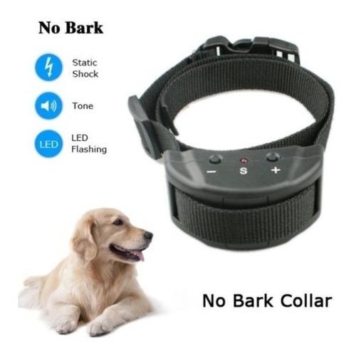 adiestramiento de mascotas collar eléctrico anti no ladridos
