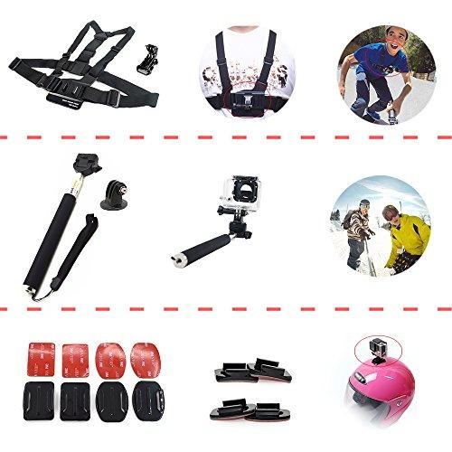 adika sport accessories kit para gopro hero 4 session 4 3  3