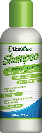 adiós piojos y liendres - shampoo+peine+preventivo liceguard