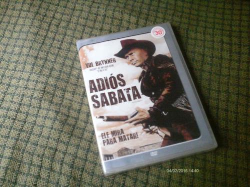 adios sabata - yul brinner - filme original em dvd