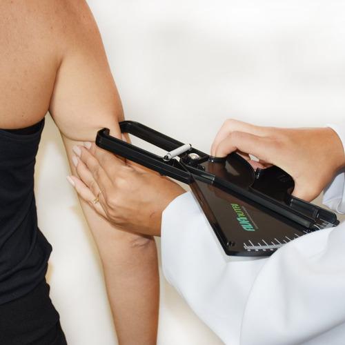 adipômetro plicometro clínico preto branco avanutri