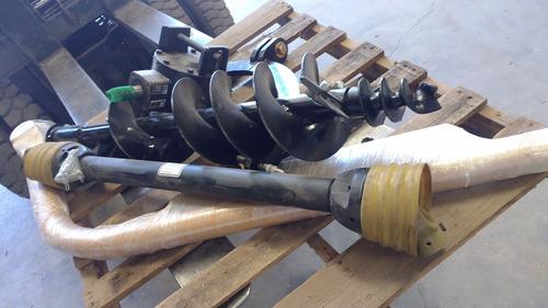 aditamento auger tractor agricola hoyador perforador taladro
