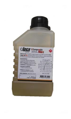 aditivo compresion max locx potenciador aceite sella aros