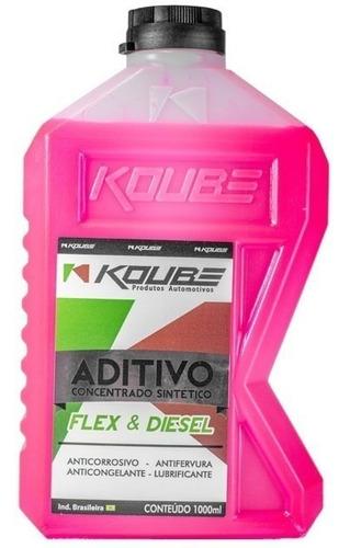 aditivo concentrado sintético flex & diesel 1000ml - koube