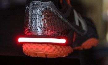 aditivo de seguridad luz zapatillas led luz de running bici