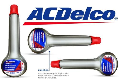 aditivo para combustível flex acdelco 200ml