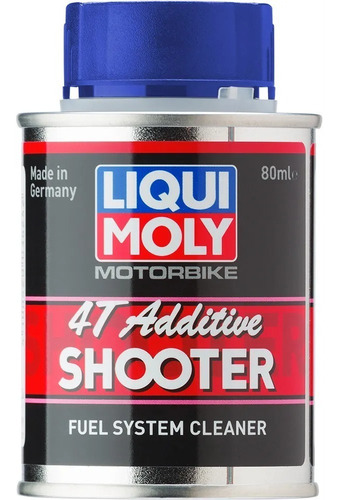 aditivo para nafta moto 4t shooter liqui moly 80 ml