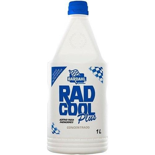 aditivo radiador bardahl radcool plus concentrado azul