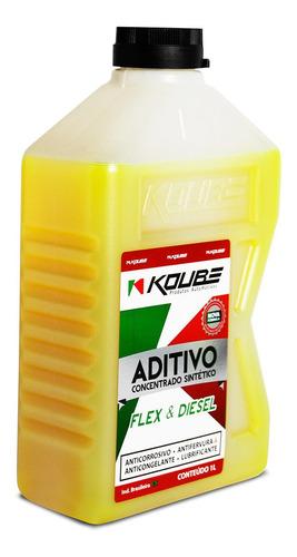 aditivo radiador concentrado sintetico amarelo 1l