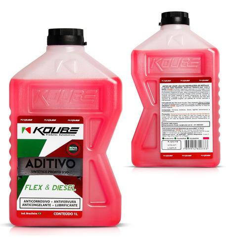 aditivo radiador sintético pronto uso rosa 1l