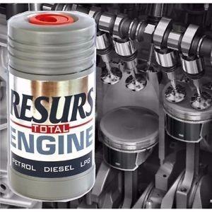 aditivo remetalizador resurs total para motores