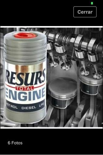 aditivo remetalizador resurs total para motores original