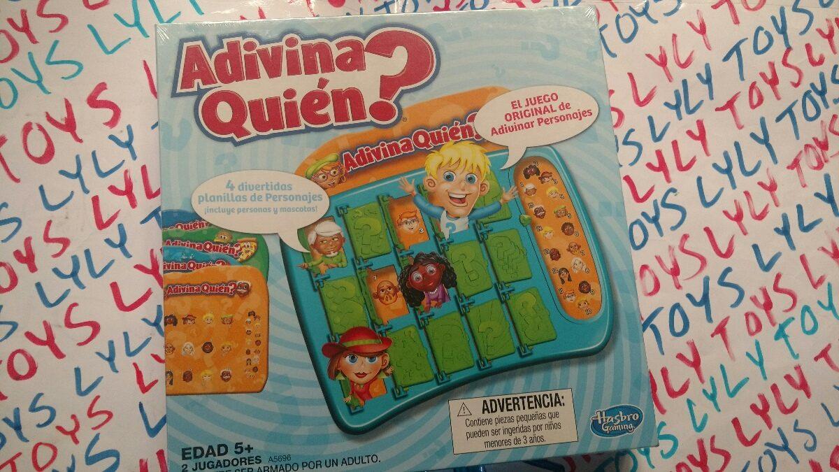 Adivina Quien Clasico Juego De Mesa Hasbro Lyly Toys 299 00 En