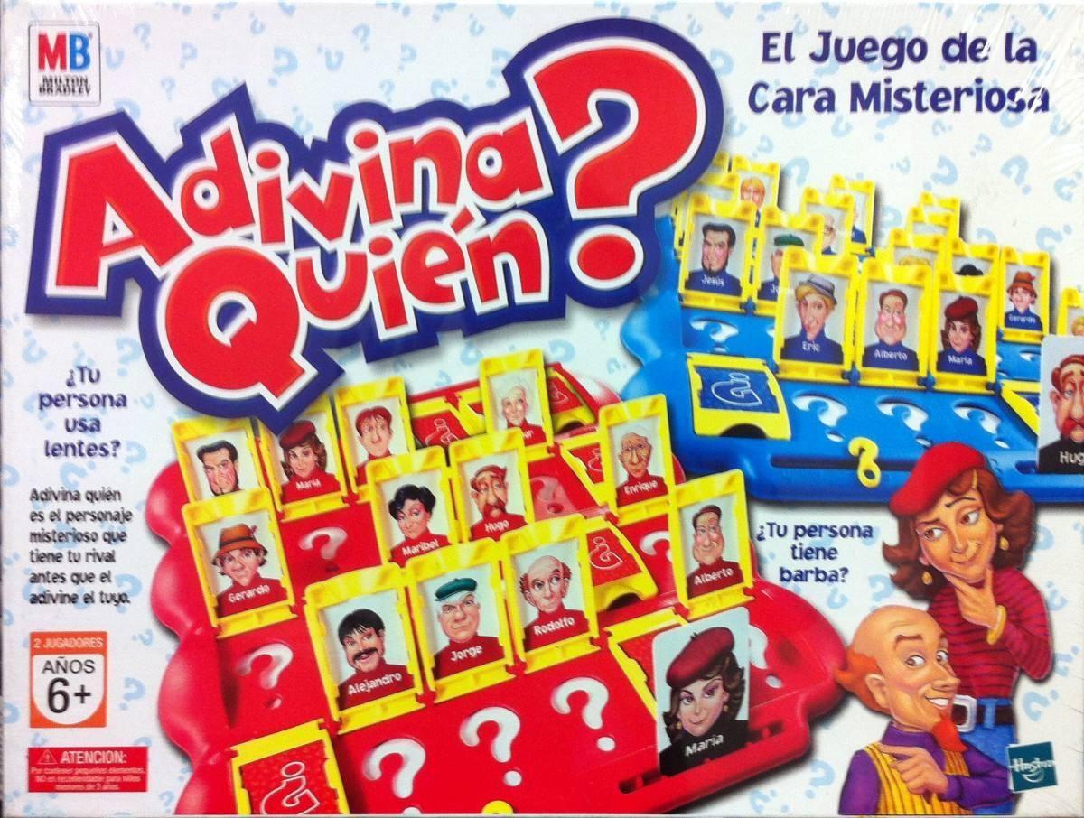 Adivina Quien Juego De Mesa Hasbro Tv 579 00 En Mercado Libre