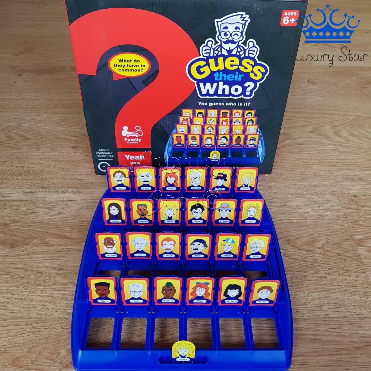 Adivina Quien Juego Mesa Multijugador Guess Their Who 39 990 En