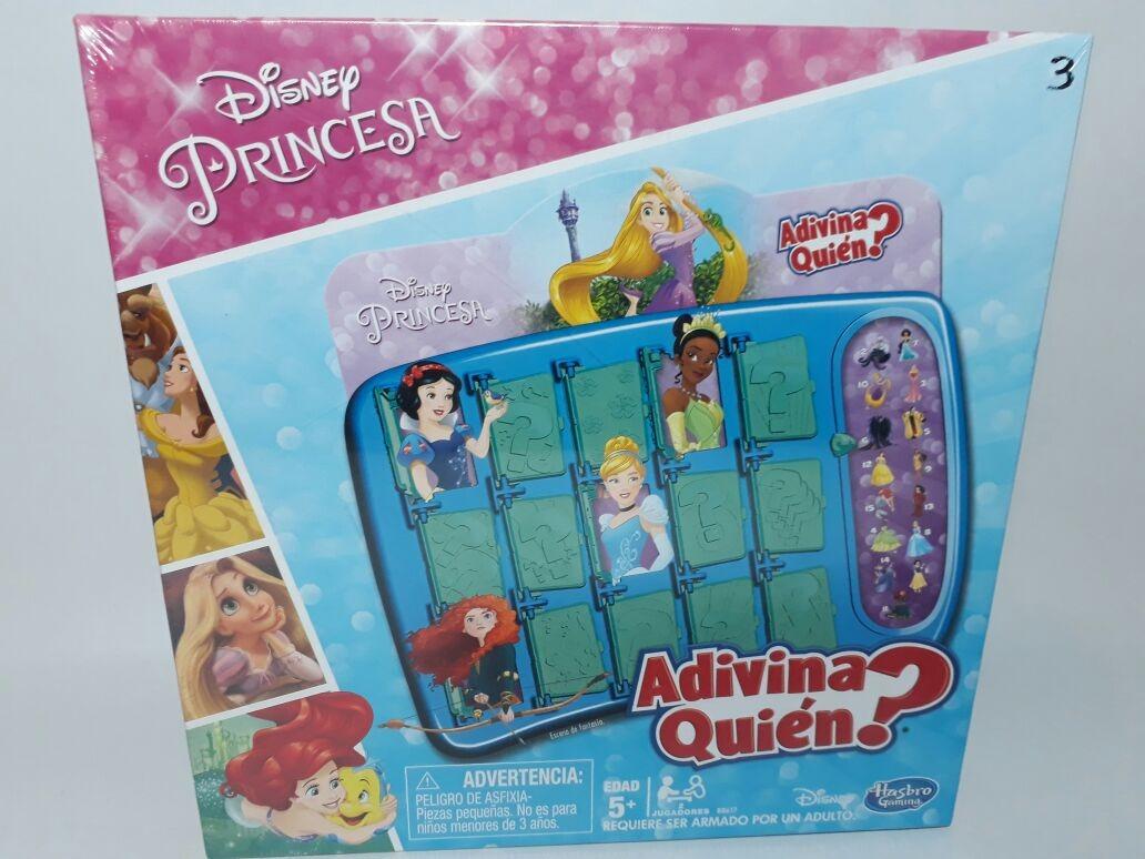 Hasbro Gaming Juego De Mesa Adivina Quien Princesas De Disney B8617