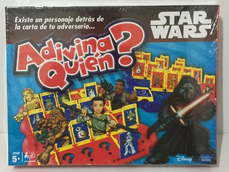 Adivina Quien Star Wars Juego De Mesa Jugueteria El Pehuen 750