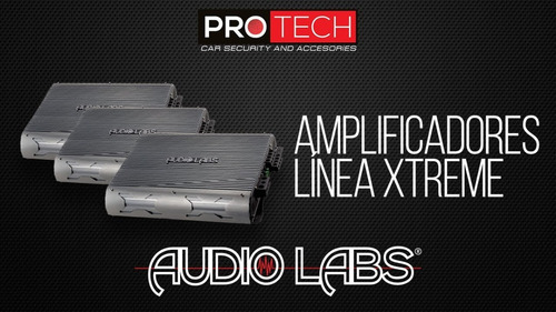 adl-x1200.1d clase d 2400 watts audiolabs xtreme series nuev