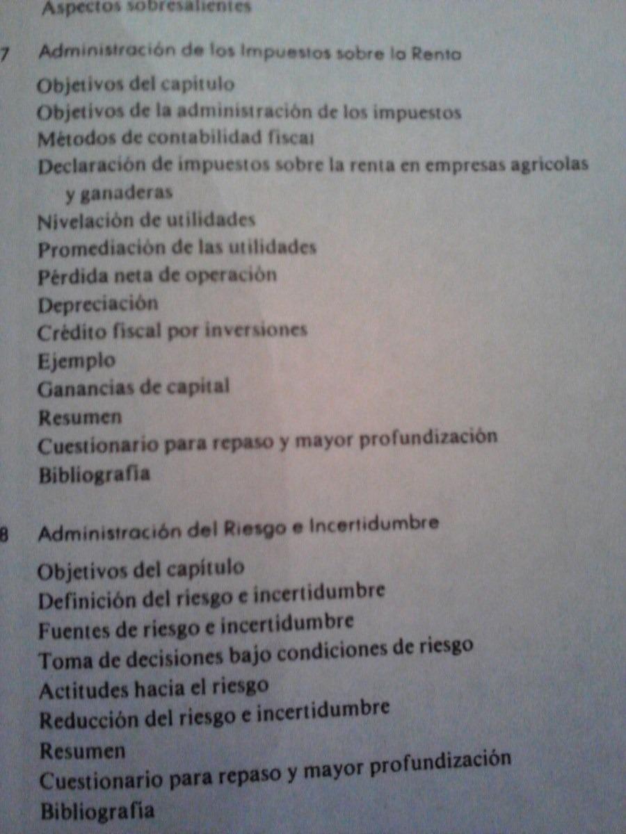 Administracion Agricola, Planeacion, Control E Implementacio ...