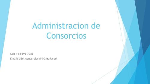 administración de consorcios