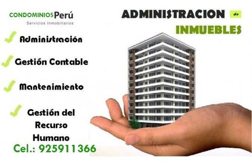 administración de edificios.