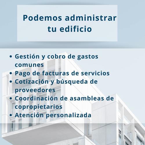 administración de edificios, gestión de gastos comunes