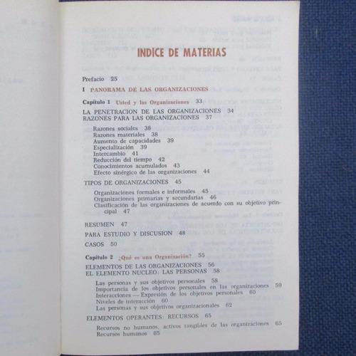 administracion de organizaciones, herbert g. hicks, ed. cecs
