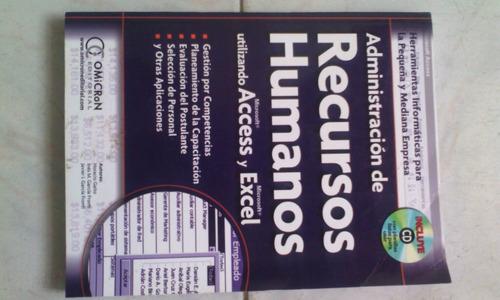 administracion de recursos humanos utilizando acces y excel