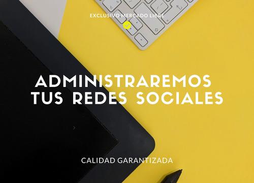 administración de redes sociales - social media.