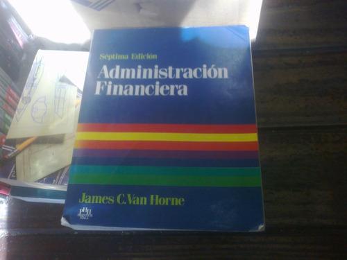 administración financiera- van horne- septima edición