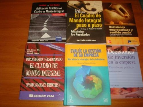 administracion, gerencia libros: