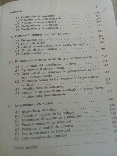 administración moderna de almacenes. creed h. jenkins $249