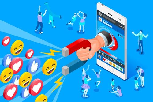 administración y creación de contenido p/ redes sociales