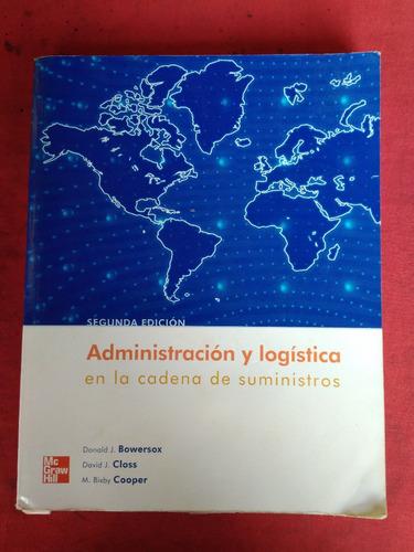 administracion y logistica en la cadena de suministros