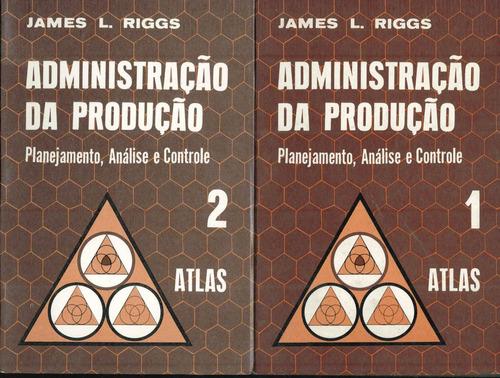 administração da produção - vol. 1 e 2 - no cartão