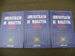 administração de marketing  - philip kotler  -  3 volumes
