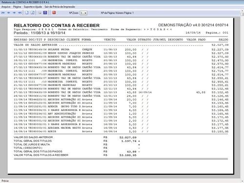 administrar assistência técnica, vendas e financeiro v4.0