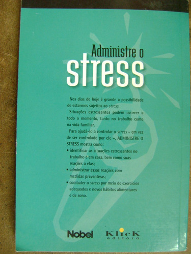 administre o stress donald weiss a4