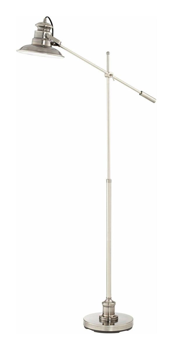 Admiral Modern Pharmacy Floor Lamp Satin Nickel Adjustable B 1 272 900 En Mercado Libre