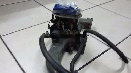 admissão carburador e filtro de ar opala 6 cc