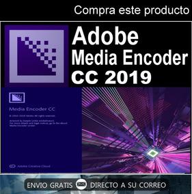 Ilimitado Adob Media Encoder 2 019 + Videotutorial De Guia