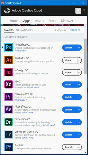 adobe acrobat dc photoshop cc 2019 illustrator 2018 + instal